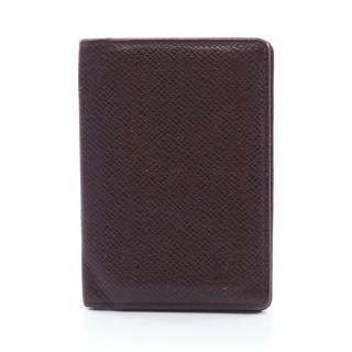 LOUIS VUITTON・財布・小物・オーガナイザードゥポッシュ タイガ アカジュー カードケース レザー ボルドー