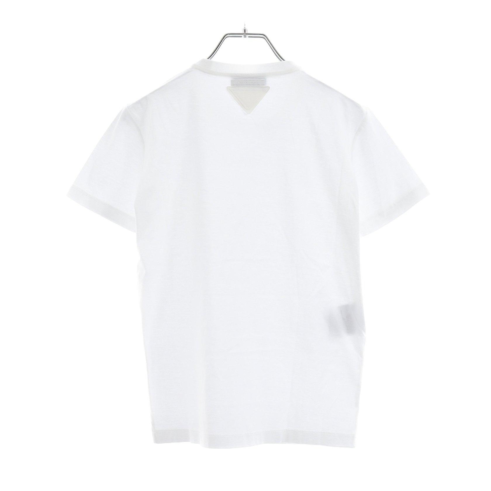 PRADA・トップス・ Tシャツ カットソー ホワイト