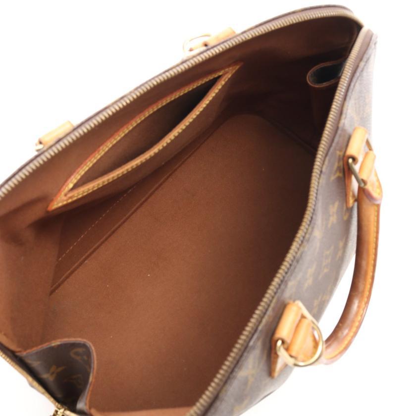 LOUIS VUITTON・バッグ・アルマPM モノグラム ハンドバッグ PVC レザー ブラウン