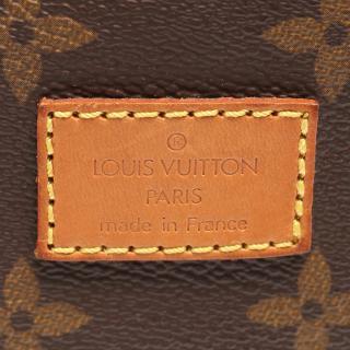 LOUIS VUITTON・バッグ・ソミュール35 モノグラム ショルダーバッグ PVC レザー ブラウン
