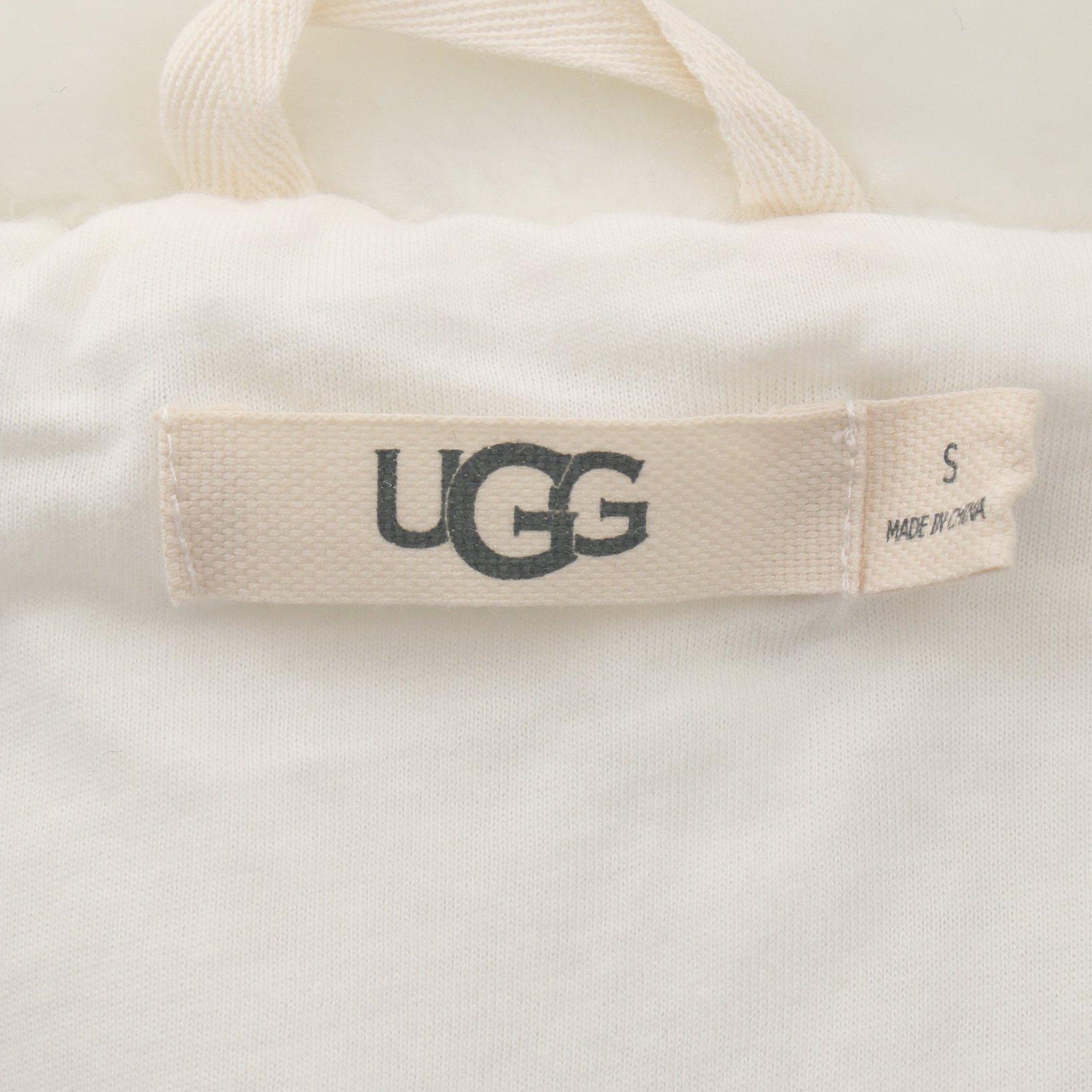 UGG australia・アウター・LAKEN レークン ジャケット ホワイト フェイクファー