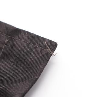 BOTTEGA VENETA・アウター・イントレッチオリュージョン ブルゾン ブラック ダークグレー フード付き