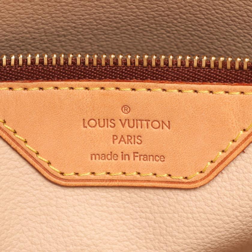 LOUIS VUITTON・バッグ・バケットPM モノグラム ハンドバッグ PVC レザー ブラウン