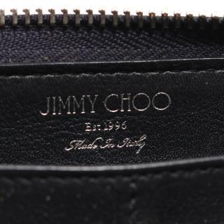 JIMMY CHOO・財布・小物・CARNABY カーナビー ラウンドファスナー長財布 スター レザー ネイビー