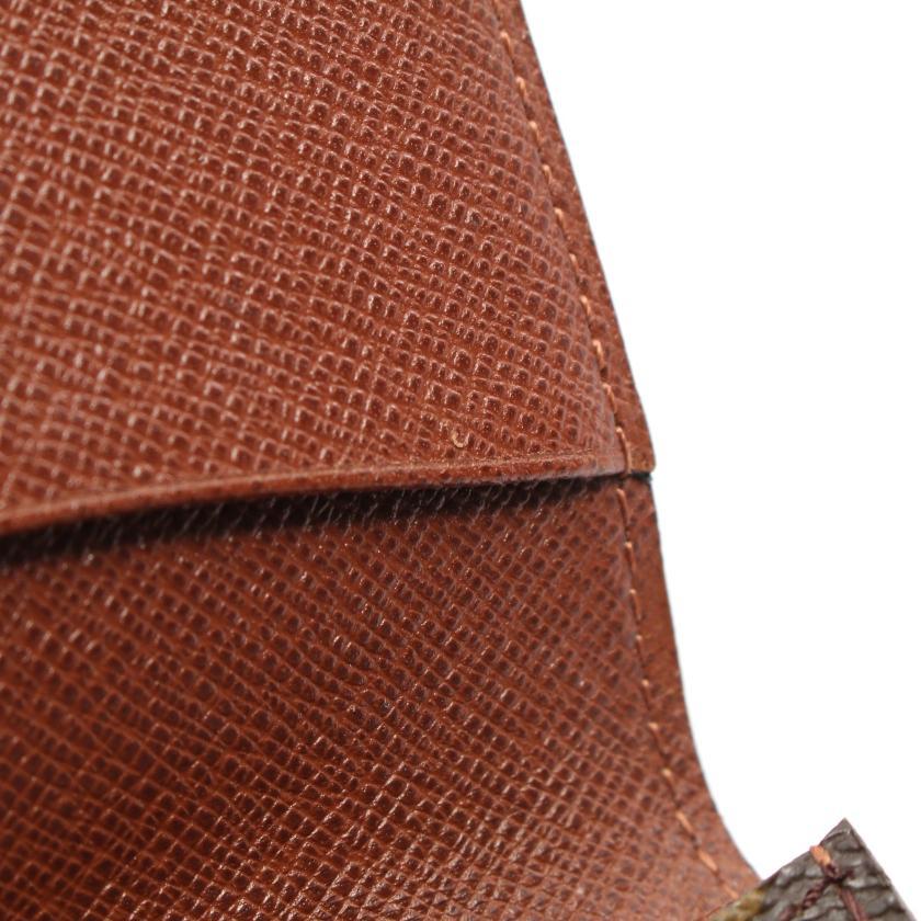 LOUIS VUITTON・財布・小物・アンヴェロップ カルト ドゥ ヴィジット モノグラム カードケース 名刺入れ PVC レザー ブラウン