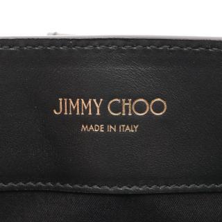 JIMMY CHOO・バッグ・ロケット ハンドバッグ トートバッグ レザー ブラック スタッズ