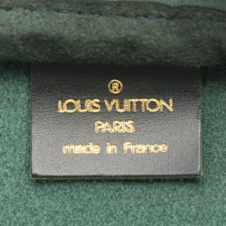 LOUIS VUITTON・バッグ・ケンダルGM タイガ エピセア ボストンバッグ レザー グリーン