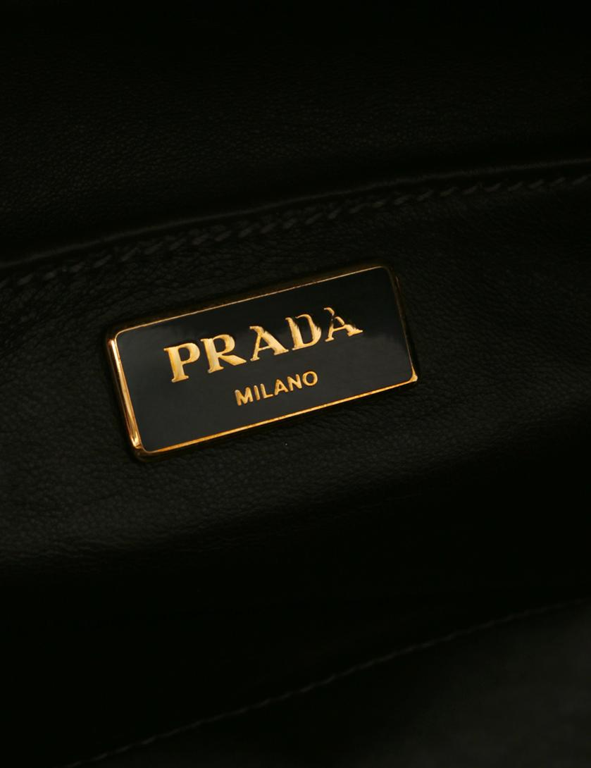 2aa2b0db3bd2 PRADA(プラダ)ヴィッテロ ヴィンテージ ボーリングバッグ キャンバス レザー チェック柄 緑 赤 こげ茶|中古ブランド通販のRECLO
