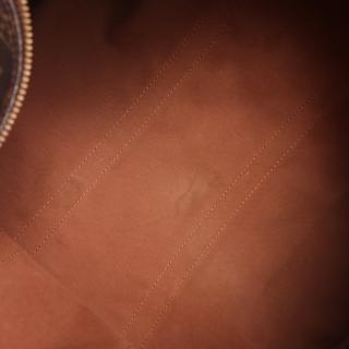 LOUIS VUITTON・バッグ・キーポル バンドリエール45 モノグラム ボストンバッグ PVC レザー ブラウン 2WAY