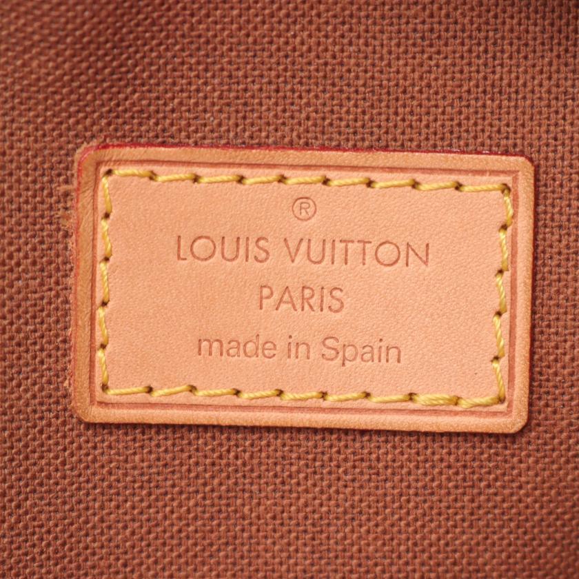 LOUIS VUITTON・バッグ・ポシェットガンジュ モノグラム ボディバッグ PVC レザー ブラウン
