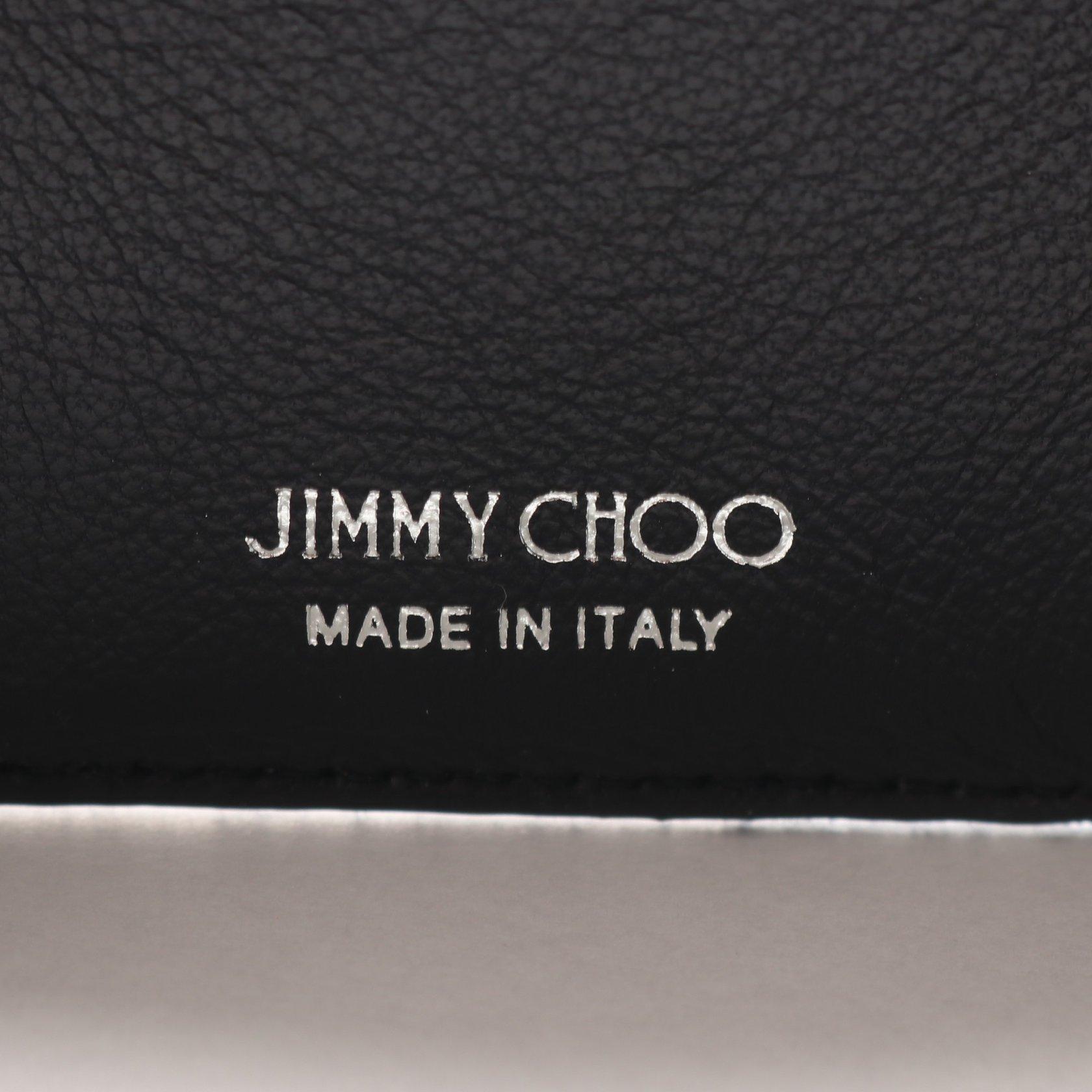 JIMMY CHOO・財布・小物・NEMO ネモ 三つ折り長財布 コンパクトウォレット デニム インディゴブルー