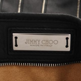 JIMMY CHOO・バッグ・SASHA サシャ ハンドバッグ トートバッグ レザー ブラック