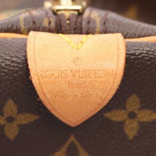 LOUIS VUITTON・バッグ・キーポル55 モノグラム ボストンバッグ PVC レザー ブラウン