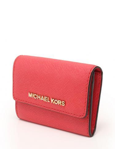 promo code 8fba7 4e4da MICHAEL KORS(マイケルコース)コンパクト財布 赤|中古ブランド通販のRECLO