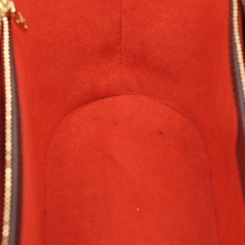 LOUIS VUITTON・バッグ・マノスクPM ダミエエベヌ ショルダーバッグ トートバッグ PVC レザー ブラウン