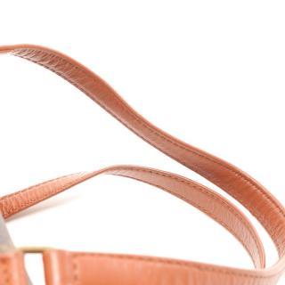 LOUIS VUITTON・バッグ・パピヨン30 モノグラム 旧型 ハンドバッグ PVC レザー ブラウン