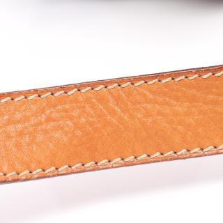 CELINE・バッグ・マカダム ショルダーバッグ PVC レザー ダークブラウン ライトブラウン