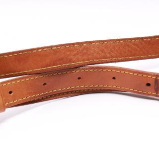 LOUIS VUITTON・バッグ・ソミュール30 モノグラム ショルダーバッグ PVC レザー ブラウン