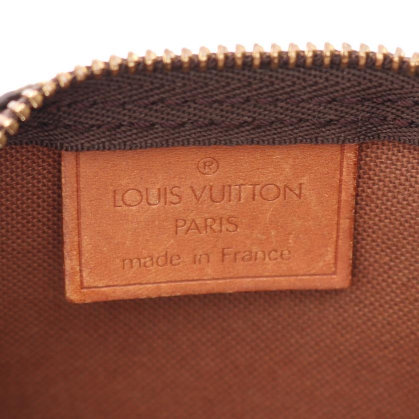 LOUIS VUITTON・バッグ・ミニスピーディ モノグラム ハンドバッグ PVC レザー ブラウン 2WAY