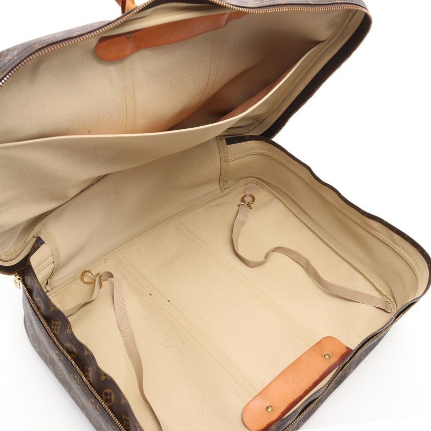 LOUIS VUITTON・バッグ・シリウス50 モノグラム トラベルバッグ ボストンバッグ PVC レザー ブラウン