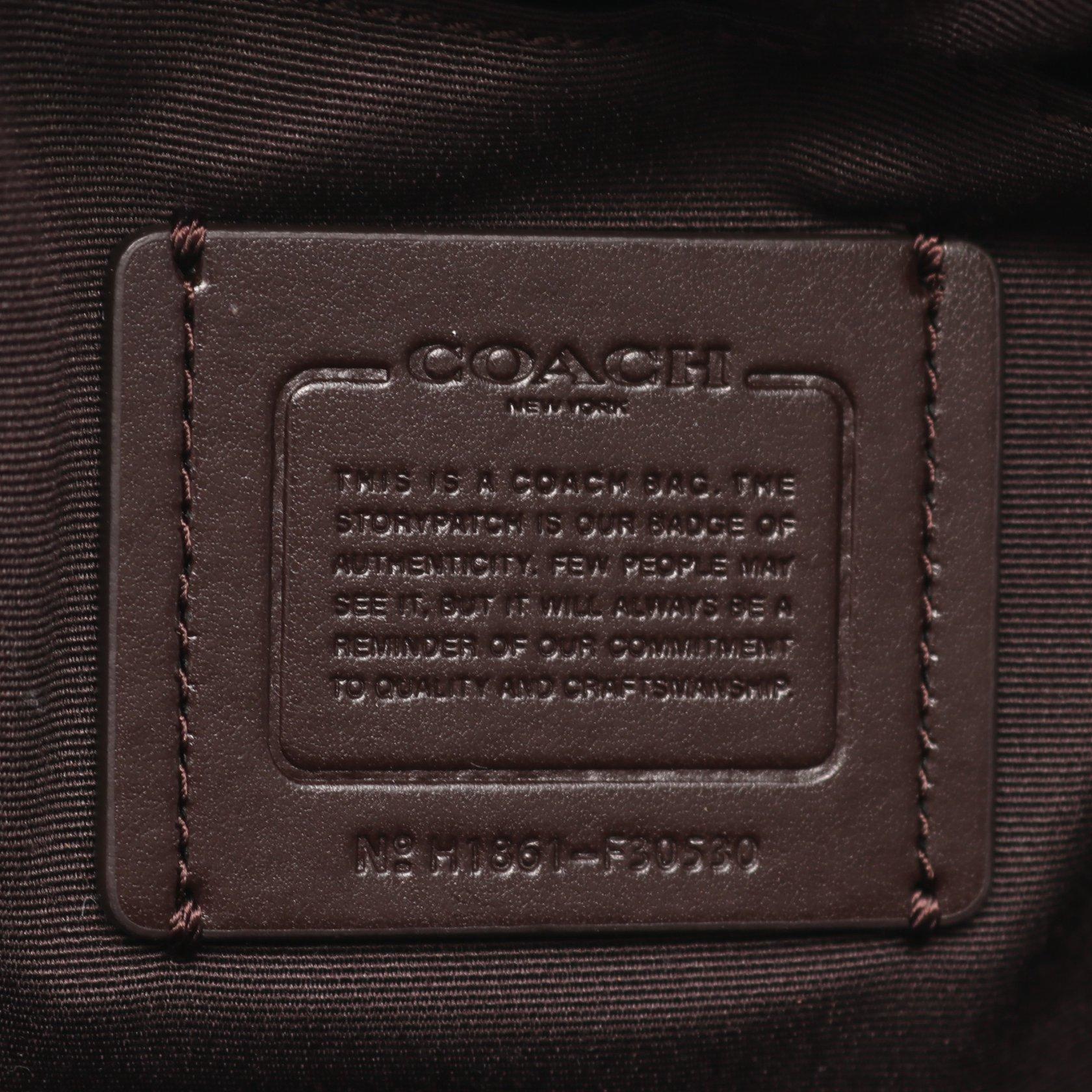 COACH・バッグ・アンディ バックパック ミニリュック レザー オフホワイト