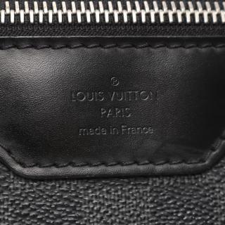 LOUIS VUITTON・バッグ・レンツォ ダミエグラフィット ショルダーバッグ PVC レザー ブラック