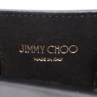 JIMMY CHOO・バッグ・LOCKETT TOTE ハンドバッグ レザー ブラック 2WAY
