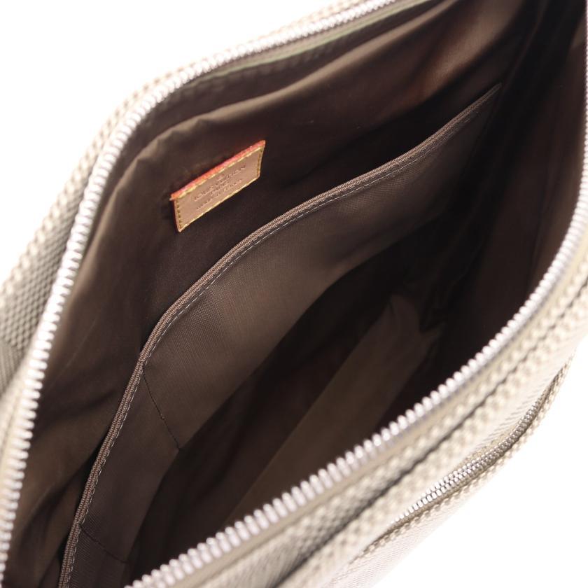 LOUIS VUITTON・バッグ・コンパニョン ダミエジェアン サーブル ショルダーバッグ ナイロンキャンバス レザー グレーベージュ