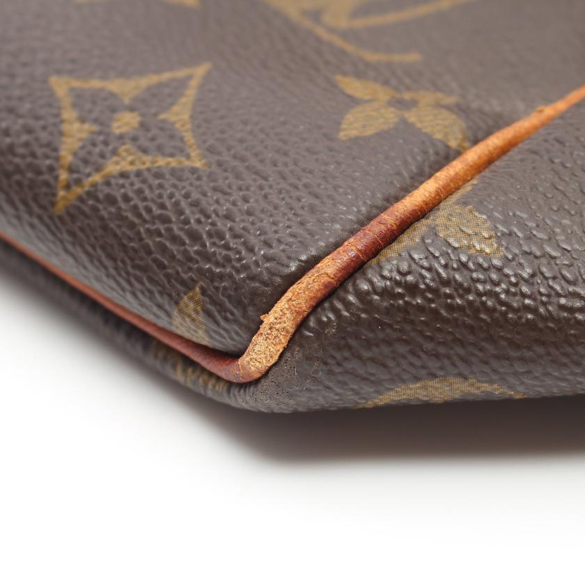 LOUIS VUITTON・バッグ・キーポル50 モノグラム ボストンバッグ PVC レザー ブラウン