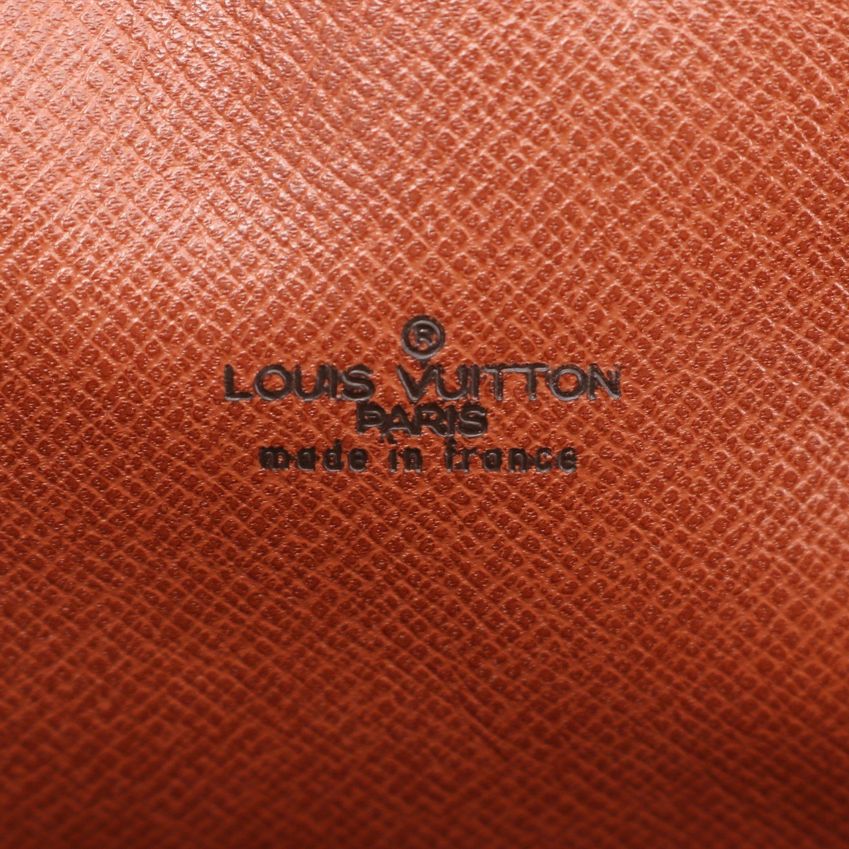 LOUIS VUITTON・バッグ・シリウス45 モノグラム トラベルバッグ ボストンバッグ PVC レザー ブラウン