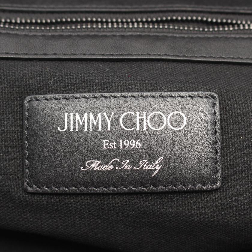 JIMMY CHOO・バッグ・REED  バックパック リュックサック スター レザー ブラック スタッズ