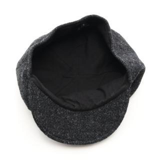 CHANEL・財布・小物・ココマーク キャスケット 帽子 ウール ダークグレー