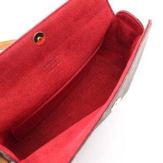 LOUIS VUITTON・バッグ・レシタル モノグラム ハンドバッグ PVC レザー ブラウン