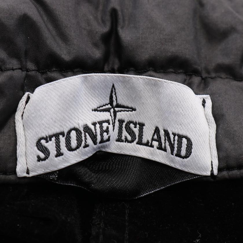 Stone Island・アウター・ラミーフロック ブルゾン ブラック フード付き