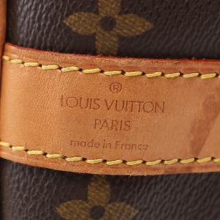 LOUIS VUITTON・バッグ・キーポル バンドリエール60 モノグラム ボストンバッグ PVC レザー ブラウン