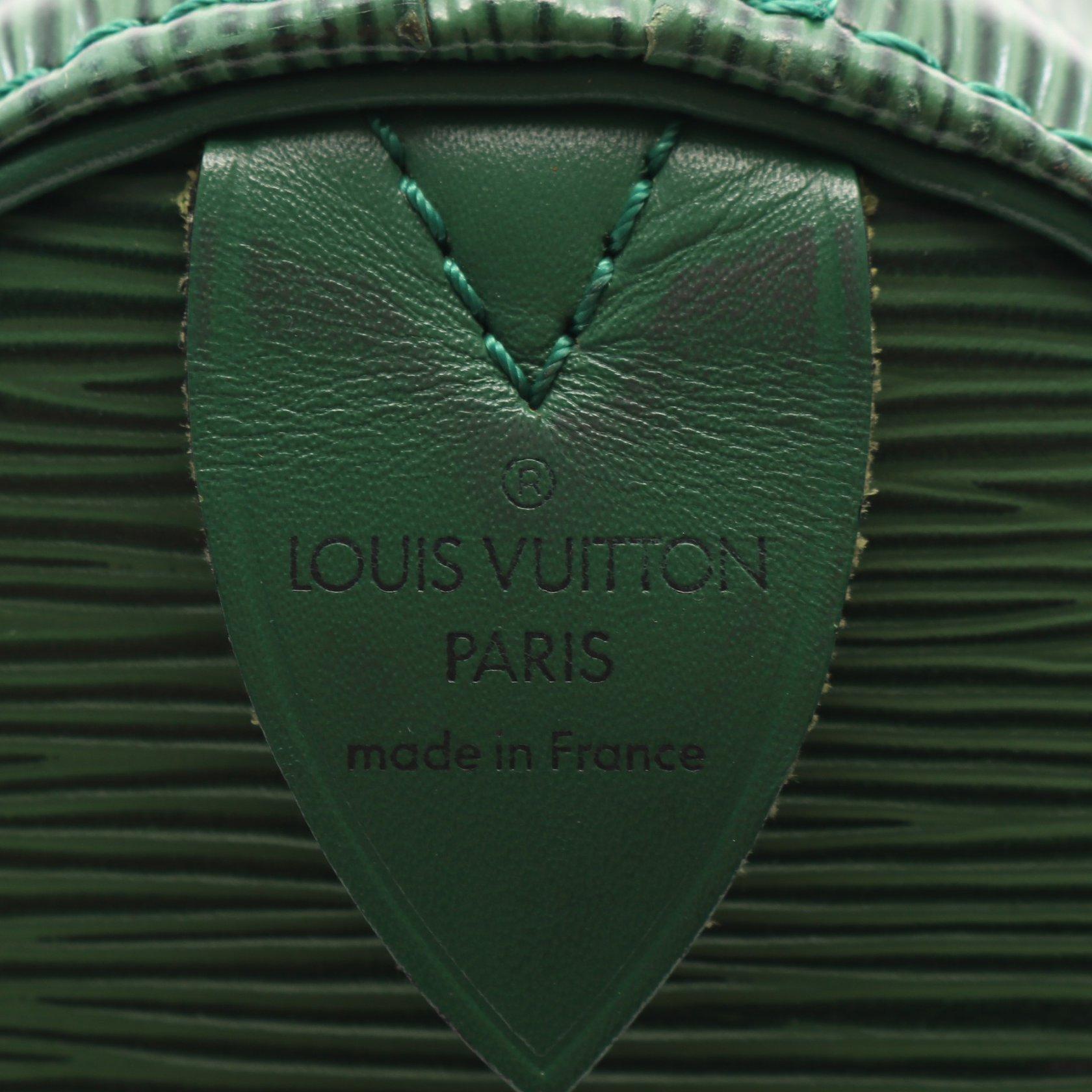 LOUIS VUITTON・バッグ・キーポル45 エピ ボルネオグリーン ボストンバッグ レザー グリーン