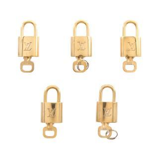LOUIS VUITTON・財布・小物・ パドロック 南京錠 ゴールド 鍵付き 5本セット