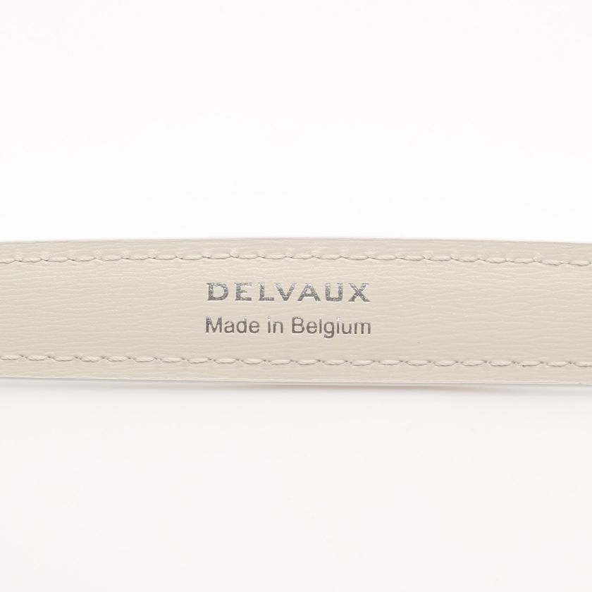 DELVAUX・財布・小物・Short Chain Strap チェーン ショルダーストラップ レザー ホワイト