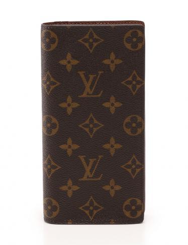 LOUIS VUITTON(ルイヴィトン)ポルトフォイユ ブラザ 二つ折り長財布 モノグラム|中古ブランド通販のRECLO