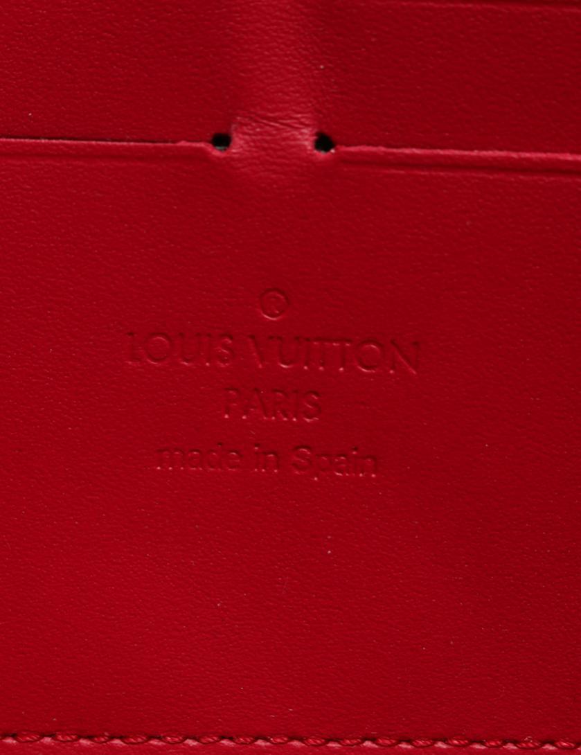 8c2be2db5359 LOUIS VUITTON(ルイヴィトン)ジッピーウォレット ラウンドファスナー長財布 スイートモノグラム エナメル レザー 赤 紫|中古ブランド通販の RECLO