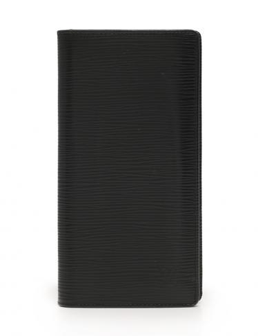 size 40 52cc1 e700a LOUIS VUITTON(ルイヴィトン)ポルトフォイユ ブラザ 二つ折り 長財布 エピ レザー 黒|中古ブランド通販のRECLO
