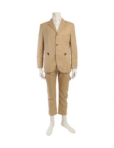 JUNYA WATANABE COMME des GARCONS MAN・スーツ・セットアップ ジャケット パンツ コットン ベージュ