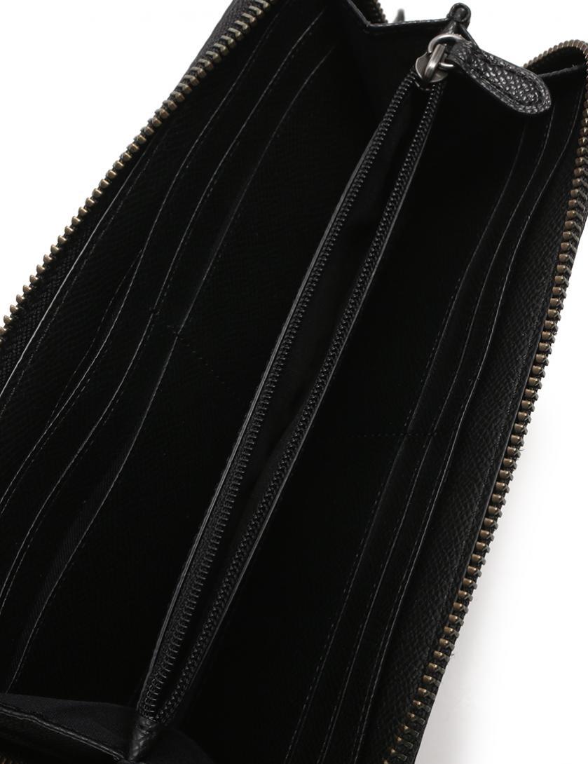 65929c120d59 COACH(コーチ)ラウンドファスナー 長財布 PVC レザー 赤 黒 ベージュ チェック柄|中古ブランド通販のRECLO
