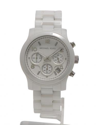 3107059a237b MICHAEL KORS(マイケルコース)クロノグラフ クオーツ 腕時計 レディース セラミック 白|中古ブランド通販のRECLO