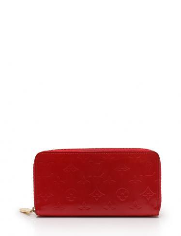 ba3b94954844 LOUIS VUITTON(ルイヴィトン)ジッピーウォレット ラウンドファスナー長財布 モノグラムヴェルニレザー 赤|中古ブランド通販のRECLO