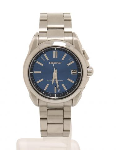bafec9ea5c SEIKO(セイコー)BRIGHTZ ブライツ 腕時計 メンズ SS シルバー ネイビー ソーラー電波|中古ブランド通販のRECLO
