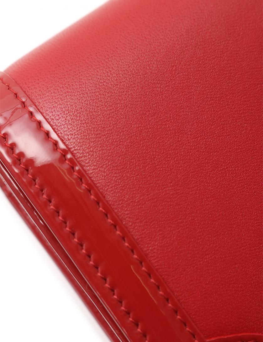 7826d3f10e94 CHANEL(シャネル)ココマーク 二つ折り長財布 ラムスキン エナメルレザー 赤|中古ブランド通販のRECLO