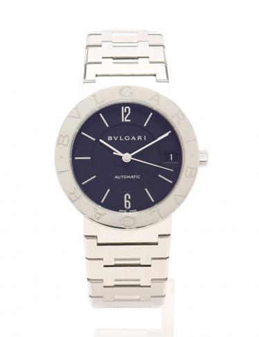 half off 8c4eb e6d8e BVLGARI(ブルガリ)ブルガリブルガリ 腕時計 メンズ 自動巻き SS シルバー 黒|中古ブランド通販のRECLO