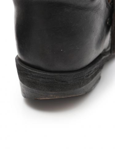 GOLDEN GOOSE・シューズ・BIKER BOOTS バイカー ブーツ レザー 黒