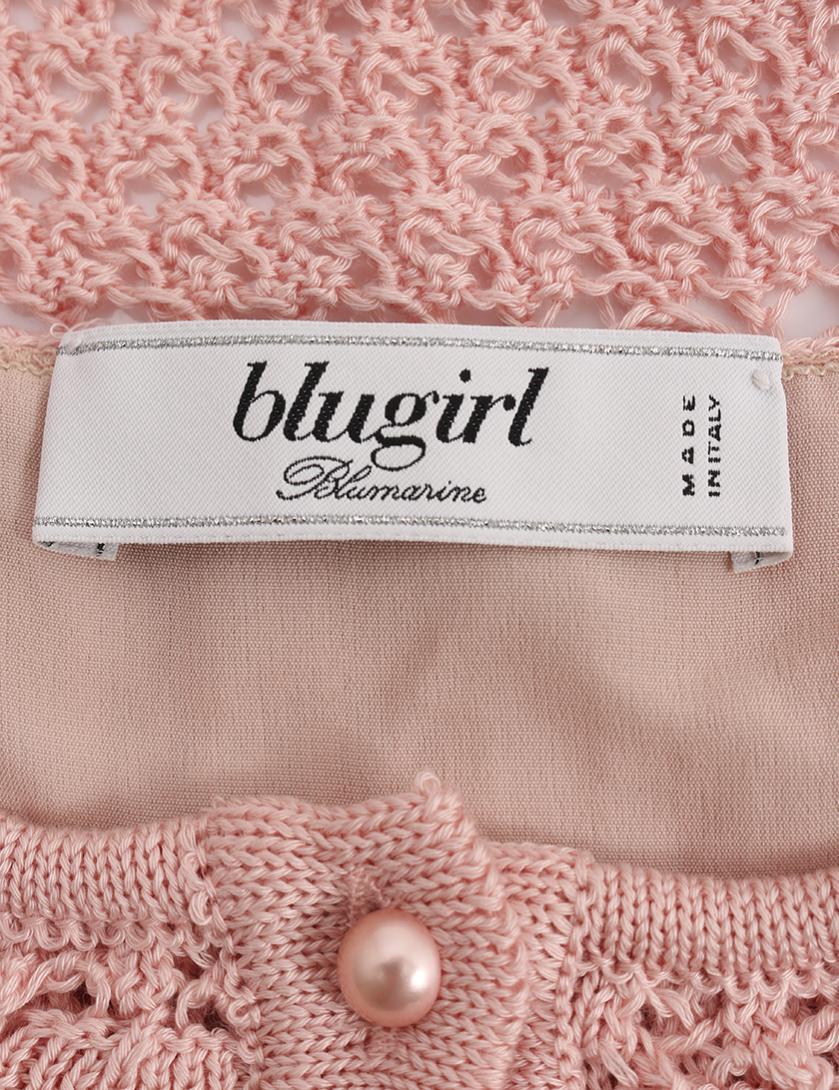 Blugirl・スーツ・ニット セットアップ ピンク